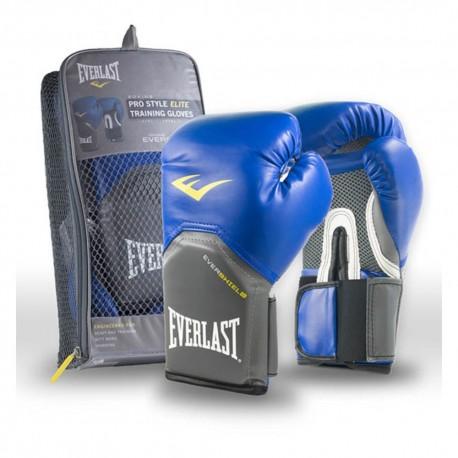 Guantes De Boxeo Everlast Elite 14oz-Azu