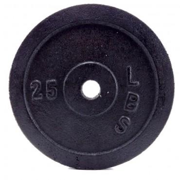 Disco Pesas Hierro 25 Lb